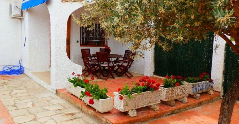 Ferienhaus Casa Lluisa - Meerblick von Dachterrasse