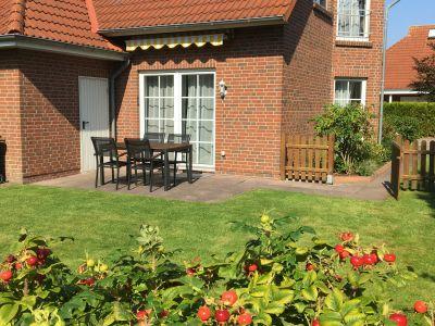 Bild Modernes allergikerfreundliches Ferienhaus Brachvogelweg Nessmersiel